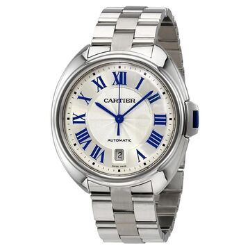 Cartier Men's WSCL0007 'Cle' Automatic Stainless Steel Watch
