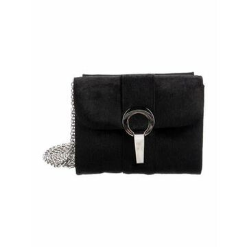 Ponyhair Crossbody Bag Black