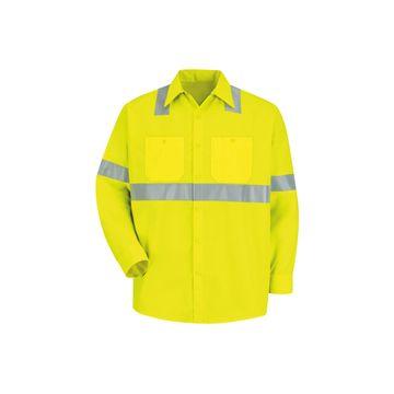 Red Kap Long-Sleeve Visibility Shirt