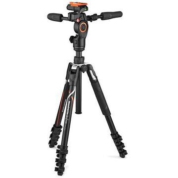 MAN-MKBFRLA-3WUS Befree 3-Way Live Advanced Travel Tripod Kit for Sony Alpha Cameras