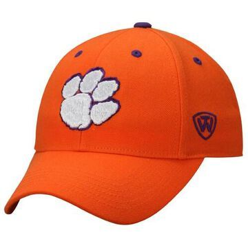Mens Clemson Tigers Top of the World Orange Dynasty Memory Fit Fitted Hat
