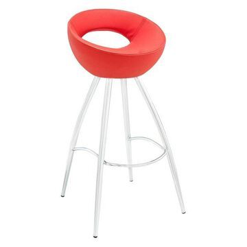 Modway Persist Bar Stool, Red