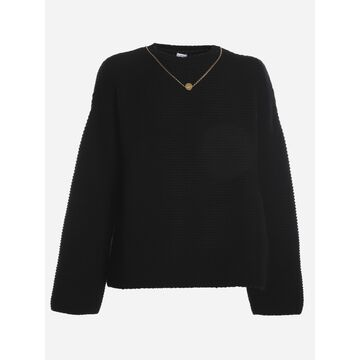 Loewe Wool And Cashmere Sweater With Chain
