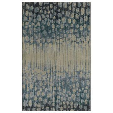Dalyn Upton Abstract Rug, Pewter, 9'6
