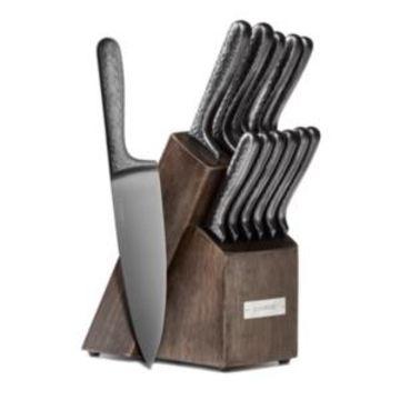 Cambridge Nero 12-Piece Cutlery Set with Knife Block