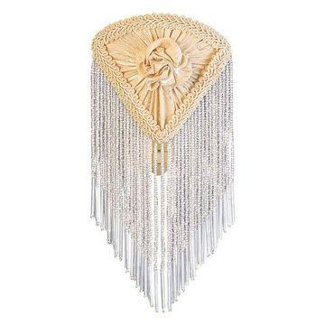 Meyda Tiffany 15107 Fabric & Fringe Night Light