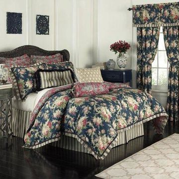 Waverly Sanctuary Rose 4-Piece Bedding Collection