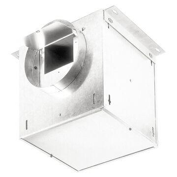 Broan High Capacity Ventilator 0.7-Sone 106-CFM White Bathroom Fan   L100L