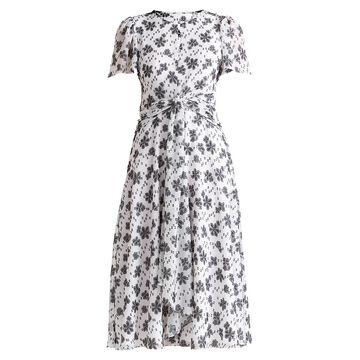Shoshanna Alita Tie-Waist Dress