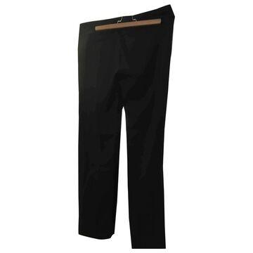 The Kooples \N Black Wool Trousers