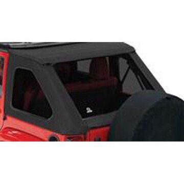 Bestop 58223-35 Wrangler 4-Door Unlimited Window Kit, Tinted For Trektop Nx, Black Diamond