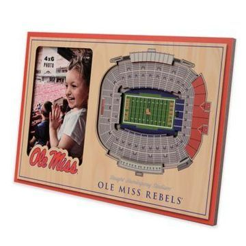 NCAA Mississippi Rebels StadiumView Picture Frame