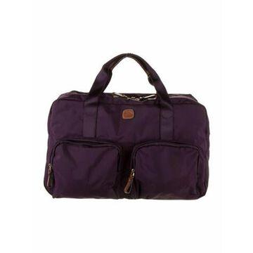Nylon Messenger Bag w/ Tags Purple