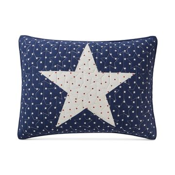 Texas Patchwork Cotton Standard Sham, Created for Macy's