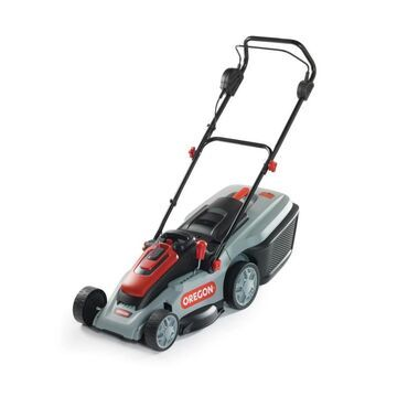 Oregon LM300 40-Volt Brushless Lithium Ion Push 16-in Cordless Electric Lawn Mower