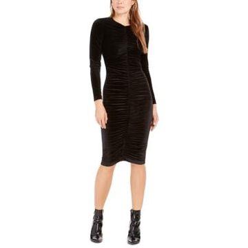 Bardot Karen Velvet Dress