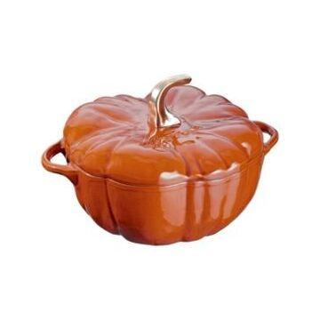Staub Cast Iron 5-Qt. Pumpkin Cocotte