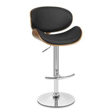Armen Living Naples Adjustable Swivel Bar Stool