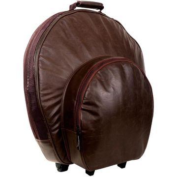 Pro 24 Vintage Cymbal Bag Vintage Brown