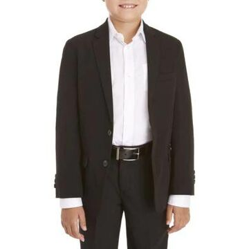 Izod Boys' Boys 8-20 Basic Stretch Black Suit Separate Jacket - -