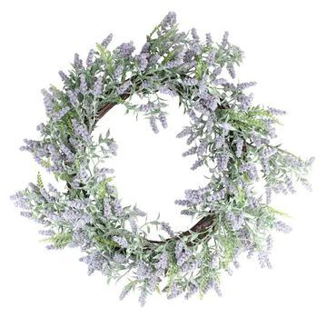 """22"""" Lavender Spring Wreath By Northlight 
