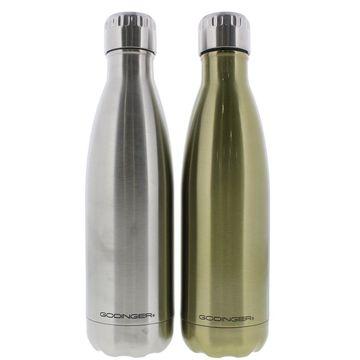 Godinger Stainless Steel Hot/Cold Water Bottle