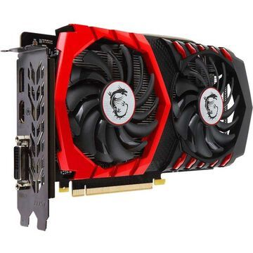 MSI GTX 1050 TI GAMING X 4G GeForce GTX 1050 Ti Graphic Card - 1.38 GHz Core - 1.49 GHz Boost Clock - 4 GB GDDR5 - PCI Express 3.0 x16 - 128 bit Bus Width - Fan Cooler - OpenGL 4.5, DirectX 12 - 1 x DisplayPort - 1 x HDMI - 1 x Total Number of DVI (1 x DV