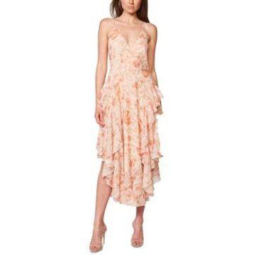 Bardot Rochelle Flutter Midi Dress