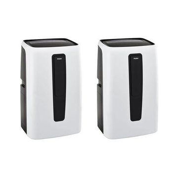 ''Haier 12,000 BTU 3 Speed Portable Electric Home AC Unit with Remote (2 Pack)''