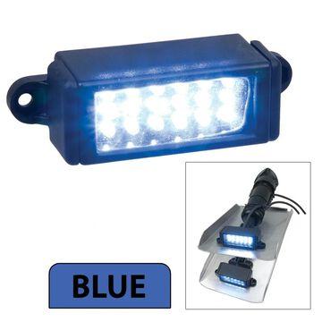 Perko surface mount trim tab underwater light - blue