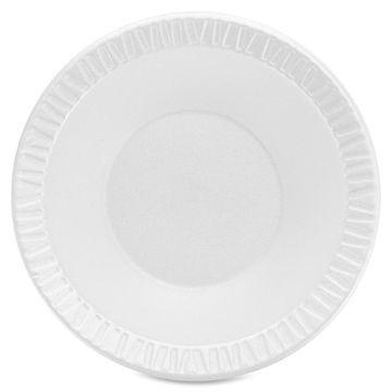 Dart Unlaminated Dinnerware Foam Bowls - 12 fl oz Bowl - Foam - White - 1000 Piece(s) / Carton