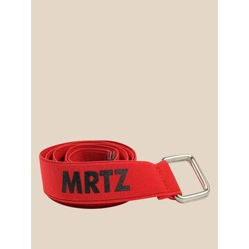 Manuel Ritz Canvas Belt With Logo