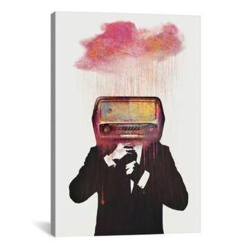 "iCanvas Radiohead by DvNiel Taylor Wrapped Canvas Print - 40"" x 26"""