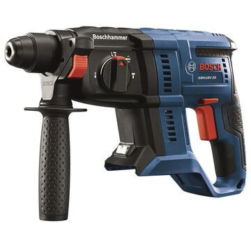 Bosch Bulldog Core18v 3/4-in SDS-Plus Variable Speed Cordless Rotary Hammer Drill in Blue