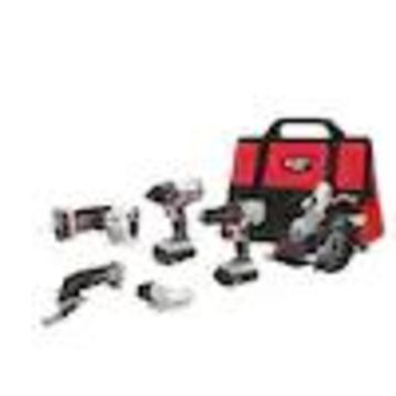 PORTER-CABLE 20-Volt Max 6-Tool Power Tool Combo Kit with Soft Case (2-Batteries Included and Charger Included)