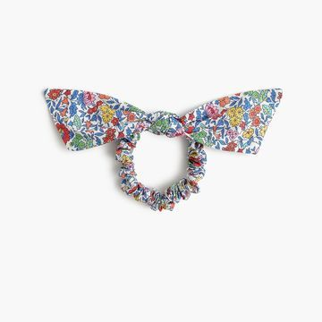 Knotted hair tie in Liberty& Favourite Flowers