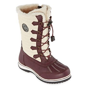 Totes Womens Cleo Waterproof Winter Boots
