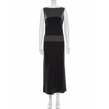 Virgin Wool Long Dress Wool