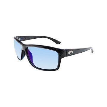 Costa Del Mar Polarized Mag Bay AA11OBMP Black Rectangle Sunglasses