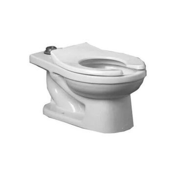 PROFLO PF1700BBHE High Efficiency Elongated Toilet Bowl Only - White