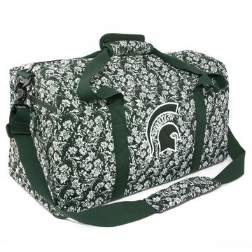 Michigan State Spartans Women's Bloom Large Duffle Bag