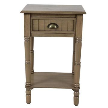 Decor Therapy Bailey End Table, Brown