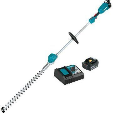 Makita 18V LXT Lithium-Ion Brushless Cordless 24 in. Pole Hedge Trimmer Kit (5.0Ah), XNU02T