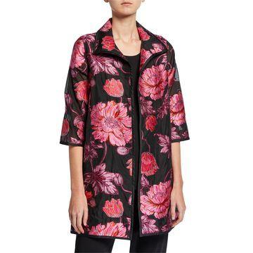 Flower Market Devore Topper Jacket