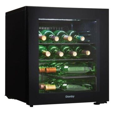 Danby DWC018A1 18 Inch Wide 16 Bottle Capacity Free Standing Wine Cool
