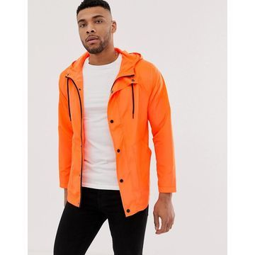 Another Influence festival neon rain jacket