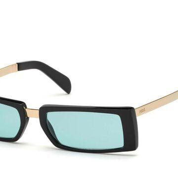 Emilio Pucci EP0126 01N Womenas Sunglasses Black Size 53