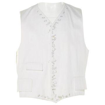 Dries Van Noten White Cotton Knitwear & Sweatshirts