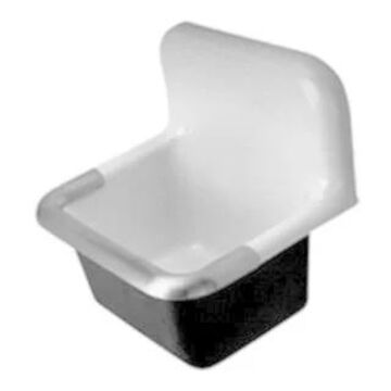 Zurn CI Service Sink with an 8-inch Center (22 x 18) Z5888
