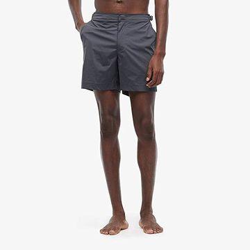 Orlebar Brown Bulldog Sport Swim Shorts (Ebony) Men's Swimwear